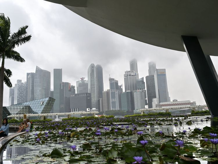 Singapore is one of the cities that has had its aromas mapped