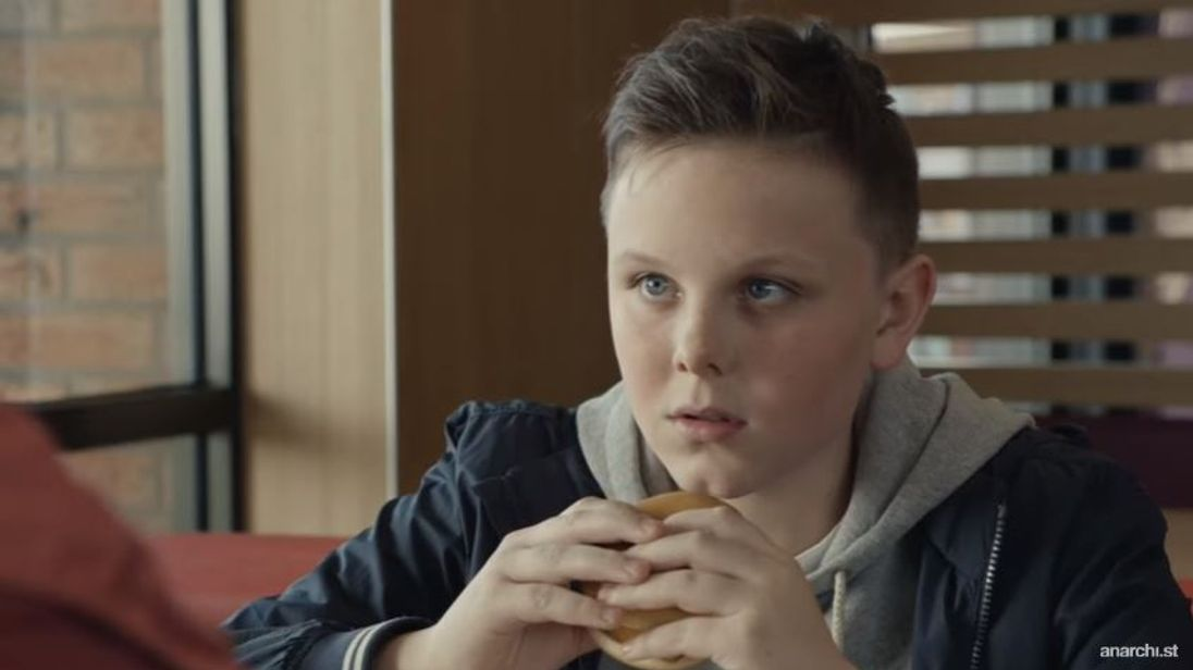 The McDonald's ad was accused of trivialising child bereavement