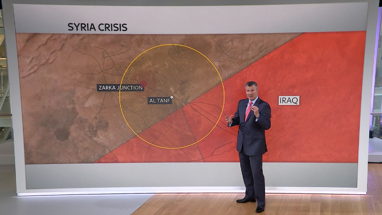David Bowden explains the latest military skirmishes on the Syrian border
