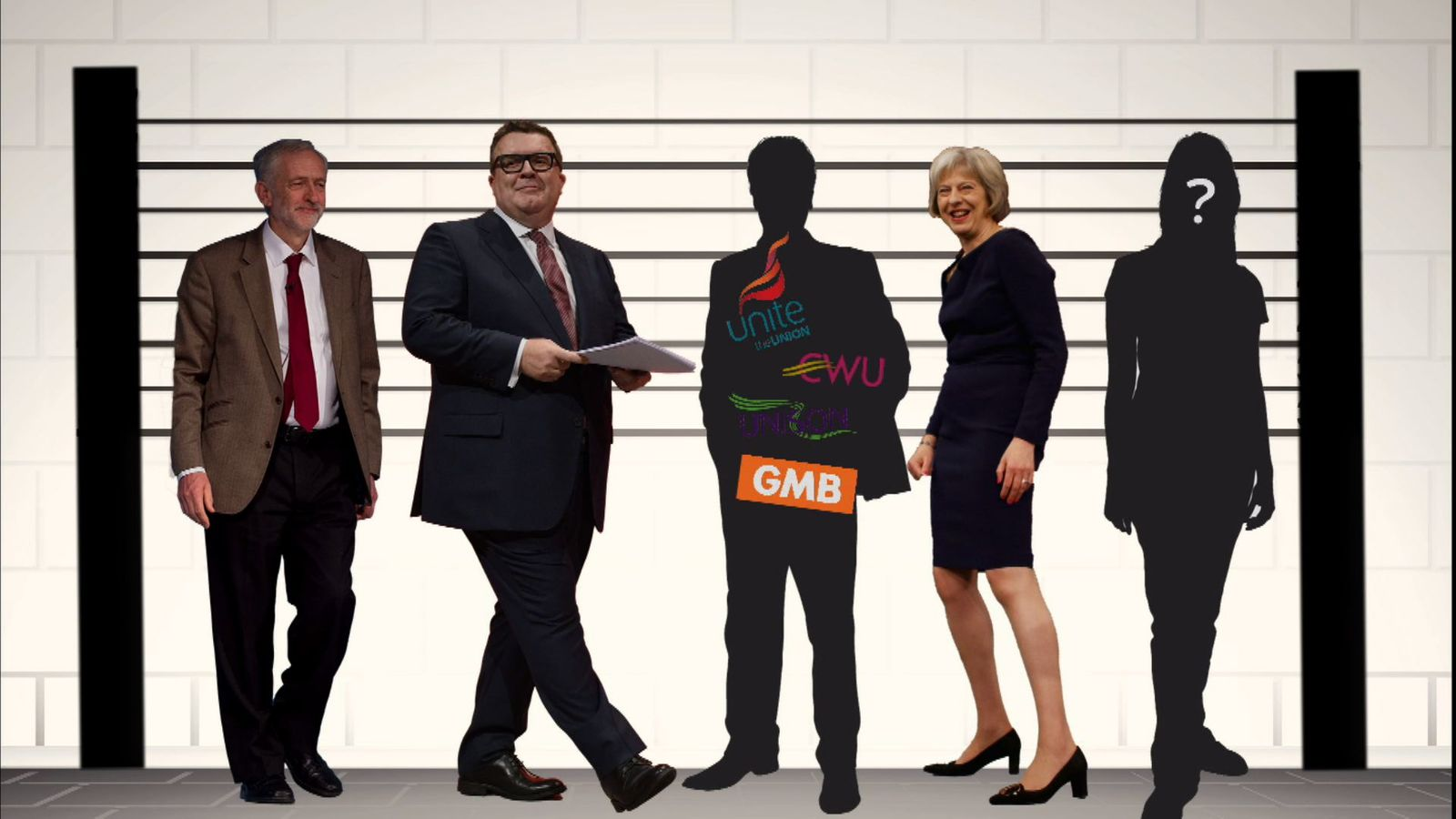 A line-up of potential suspects in the mysterious Labour manifesto leak