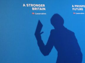 Theresa May launches the Conservative manifesto