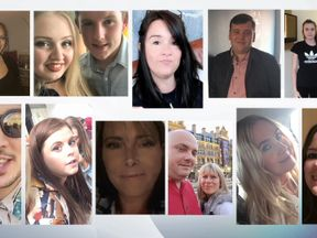 Some of those missing after the Manchester attack