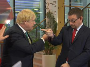 Boris Johnson and Andrew Gwynne go head to head before the leaders' debates