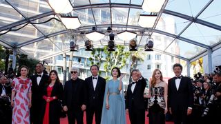 Pedro Almodovar, Maren Ade, Jessica Chastain, Fan Bingbing, Agnes Jaoui, Park Chan-wook, Will Smith, Paolo Sorrentino and Gabriel Yared