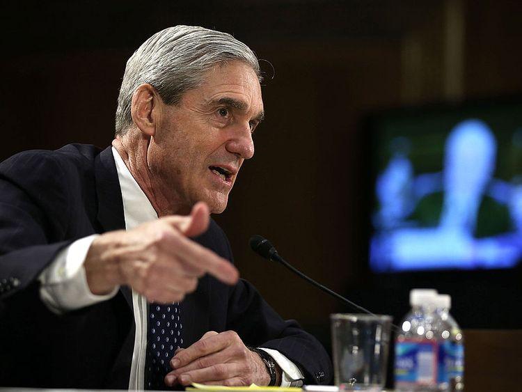 Former FBI director Robert Mueller