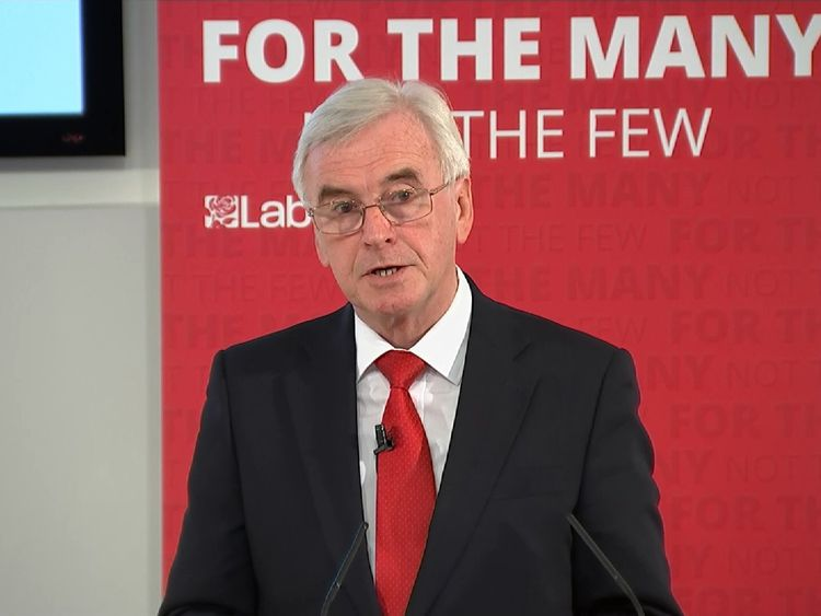 John McDonnell lays into the Conservative manifesto