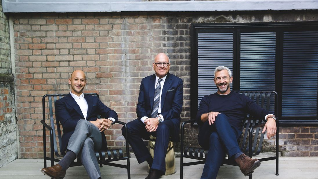 Olly Olsen, Lloyd Dorfman and Charlie Green have expanded TOG since 2010