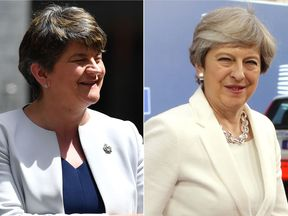 Sky News understands that Mrs Foster will meet the Prime Minister on Monday morning