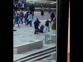 The 40-year-old Algerian student was also armed with knives