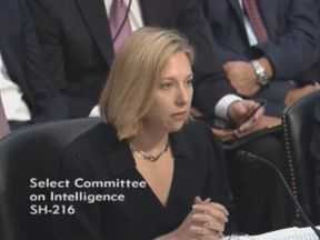 Jeanatte Manfra  testifies before the Select Committee on Intelligence