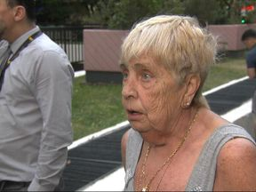 Shirley Phillips was one of the resident evacuated from Taplow tower block in Swiss Cottage