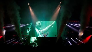 David Guetta performs on the Main Stage