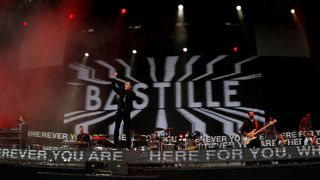 Bastille perform on the Main Stage
