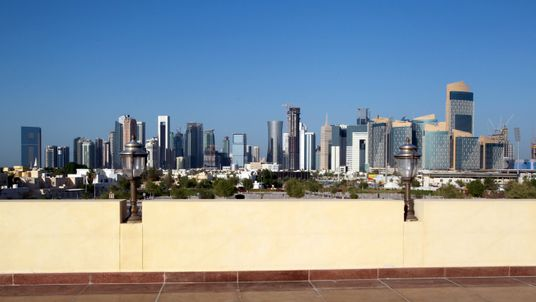 Qatar is being blockaded by several of its surrounding Gulf states