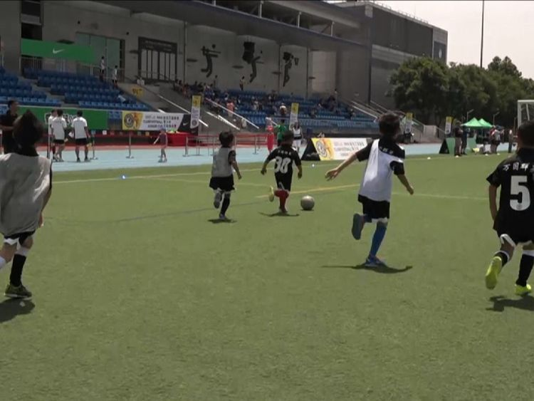 Parents in China need to be persuaded football is a good use of their children's time