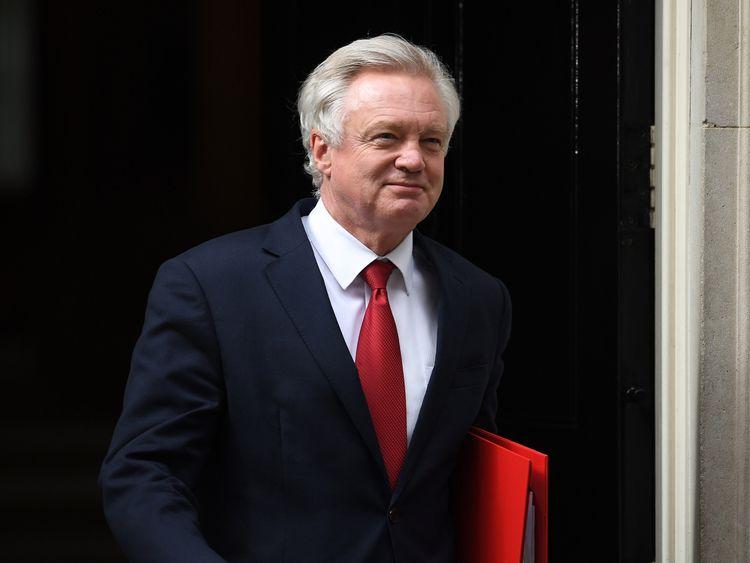 Brexit Secretary David Davis will begin formal negotiations next week
