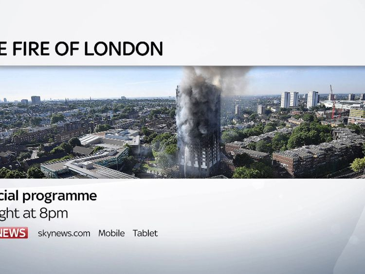 Special programme on the Grenfell Tower fire