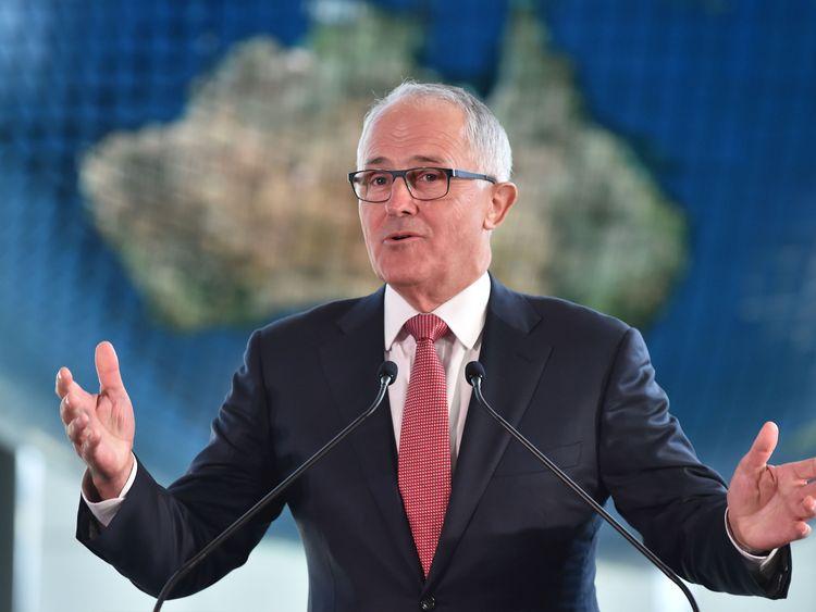 Australian Prime Minister Malcolm Turnbull has mocked Donald Trump