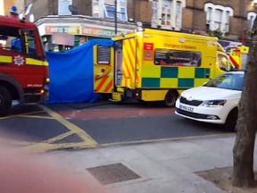 Police were called to Roman Road after the alleged attack