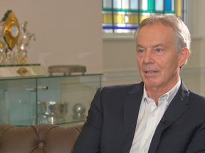 Tony Blair speaks to Sky News' Sophy Ridge