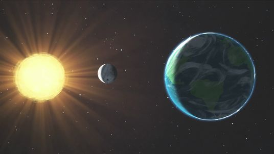 In a solar eclipse the moon blocks out the Sun. Pic: NASA