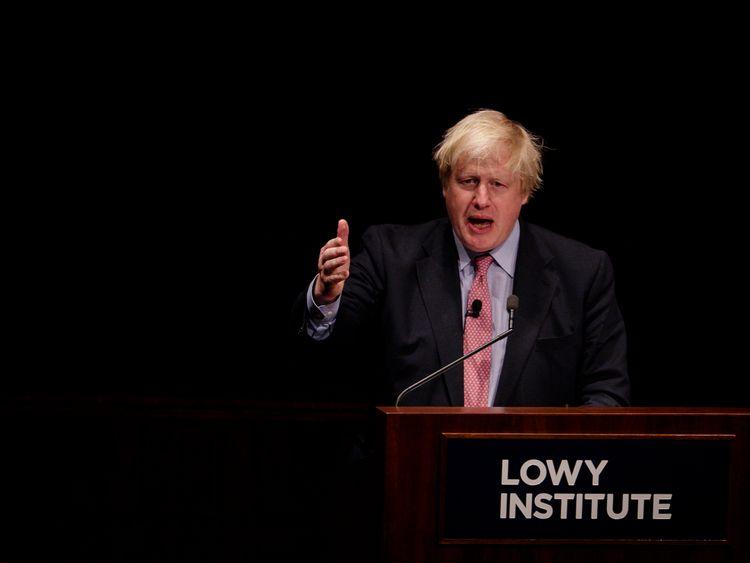 Boris Johnson has condemned's North Korea's launch of an ICBM