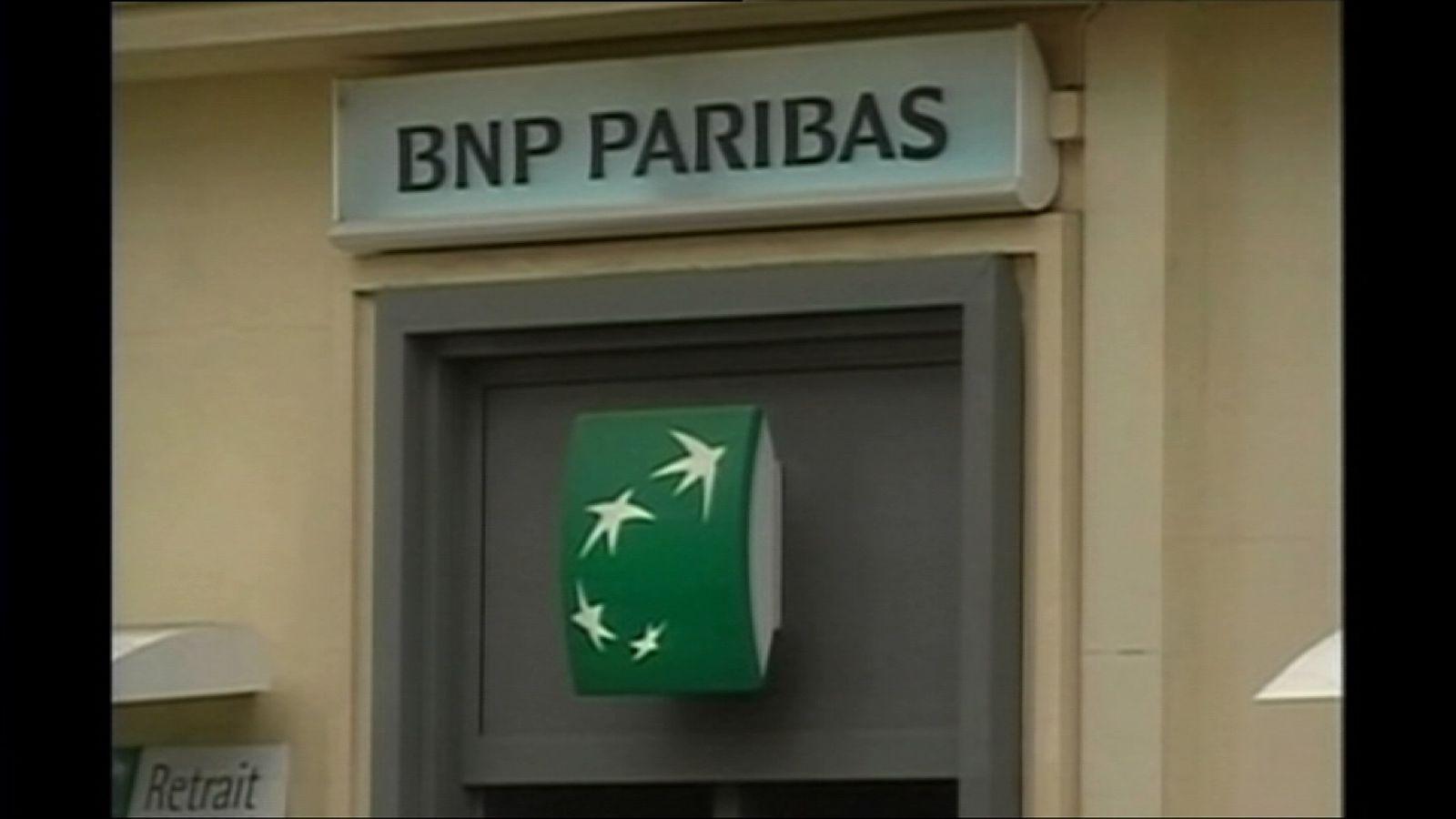 A BNP Paribas branch