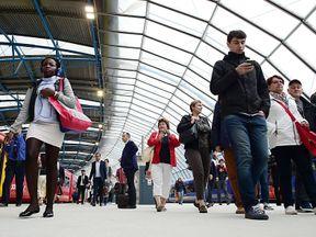 London Waterloo railway station
