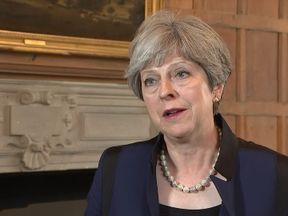 Theresa May says countries must work together to fight terrorism