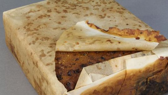 Fruit cakes are ideal high-energy food for polar expeditions. Pic: Antarctic Heritage Trust