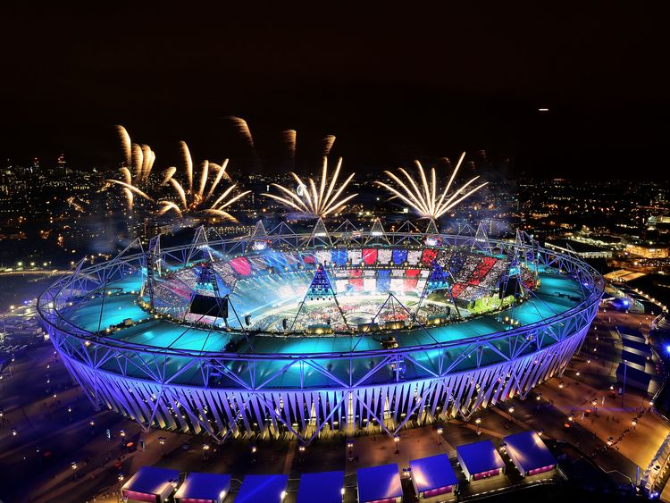 London 2012 Olympic Games Opening Ceremony