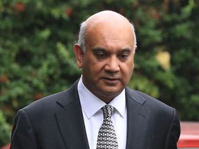 Keith Vaz leaves home amid calls for an investigation by the Commons