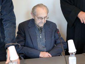 Hubert Zafke, 95, accused of aiding in 3,681 murders in Auschwitz in 1944