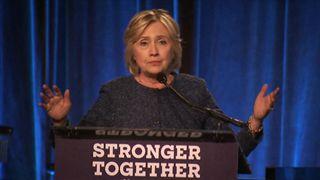 Hillary Clinton describes Donald Trump supporters as a 'basket of deplorables'