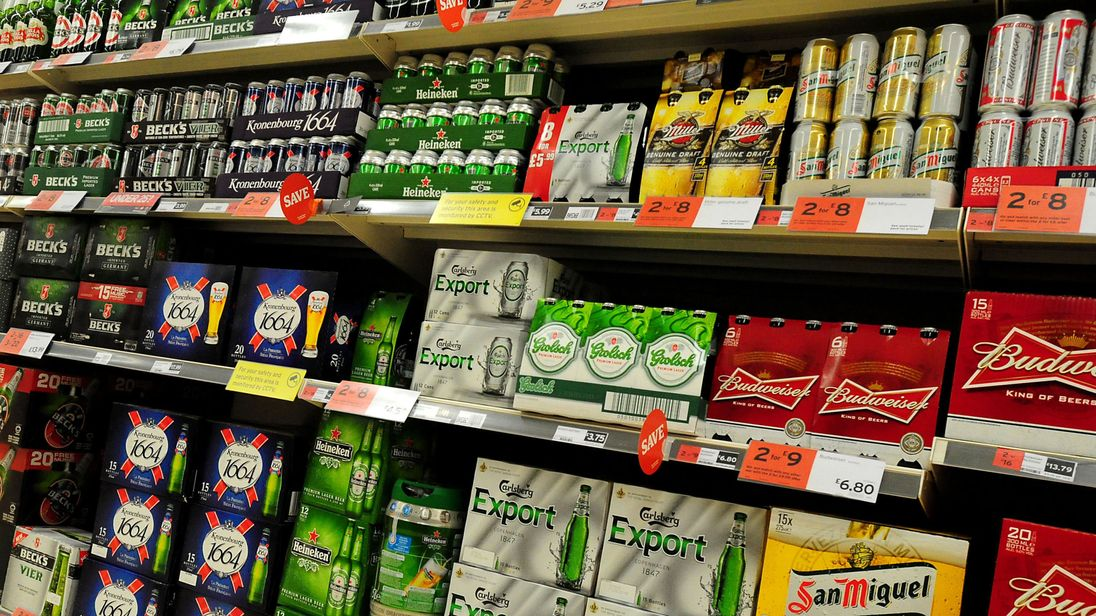Concerns persist over the availability of cheap booze  from shops