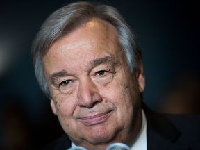 Antonio Guterres will take over from Ban ki-moon early next year