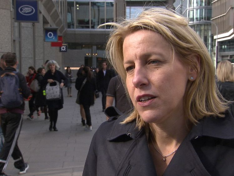 Helen Dickinson is the chief executive of the British Retail Consortium