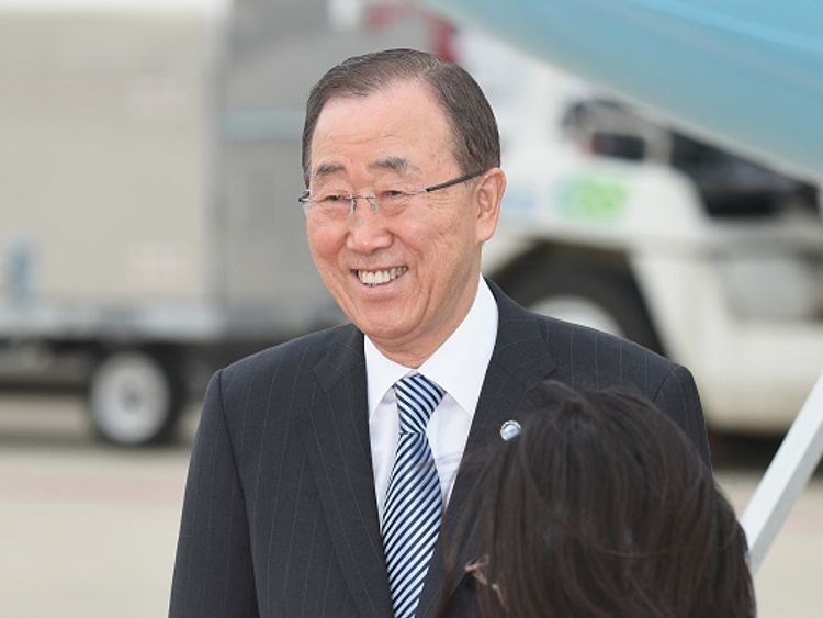 Ban Ki-moon will stand down after his second five-year term ends in January