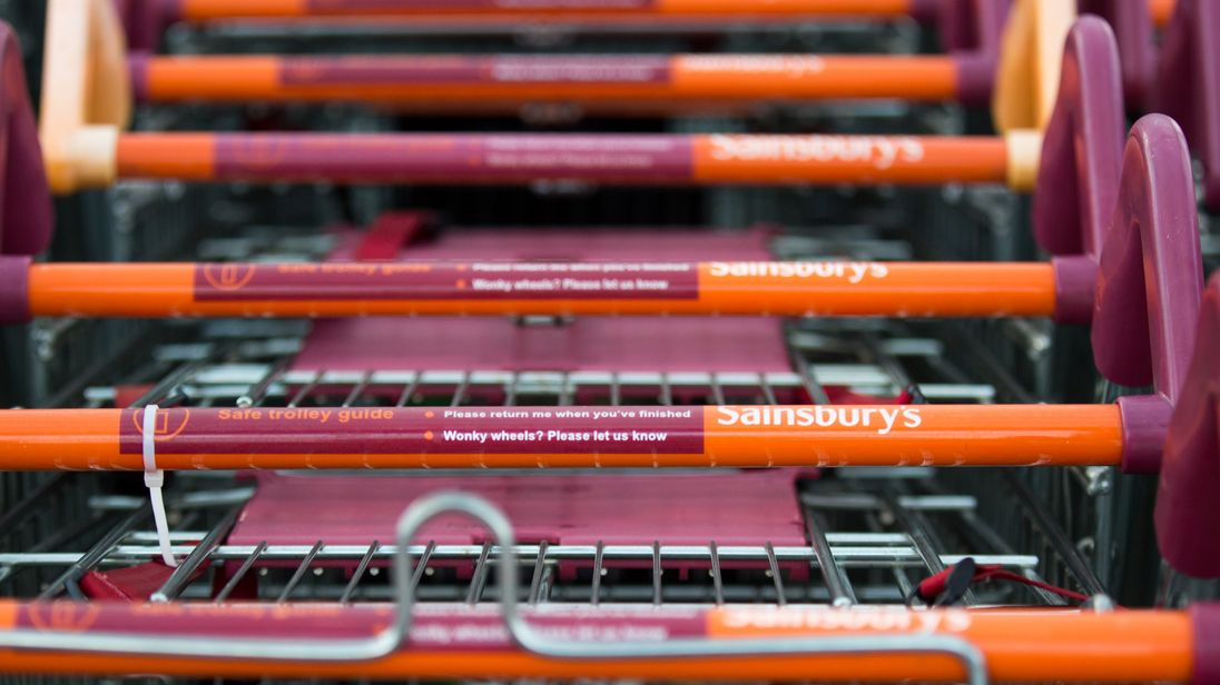 Sainsbury's like-for-like store sales fell 1% in its first-half
