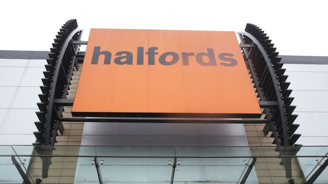 Halfords is the latest firm to take a hit from the falling pound