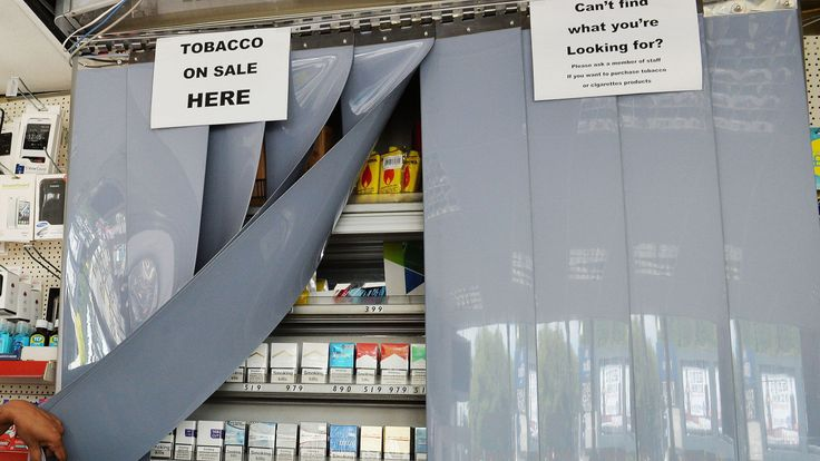 tobacconist shop in London. File picture