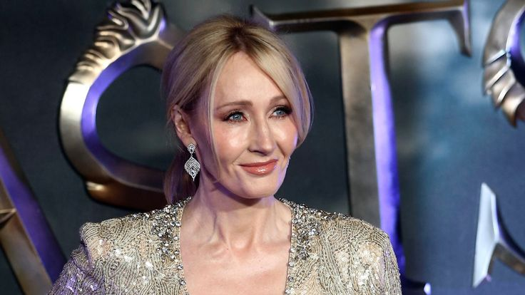 "Writer J.K. Rowling poses as she arrives for the European premiere of the film ""Fantastic Beasts and Where to Find Them"" at Cineworld Imax, Leicester Square"