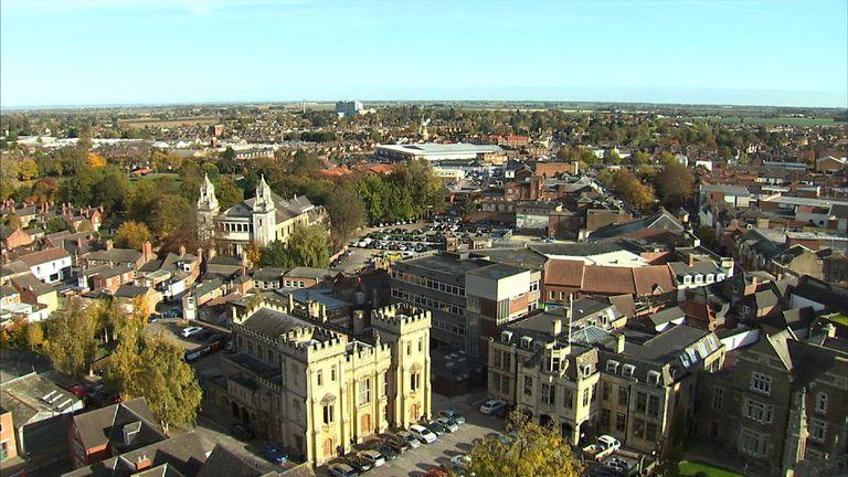 Boston in Lincolnshire