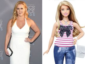 Amy Schumer to play Barbie: A curvy Barbie was launched in January