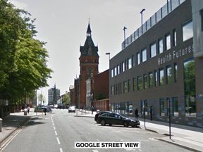 The victim was shot on High Street, West Bromwich