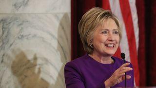 Hillary Clinton warns of a fake news 'epidemic'.
