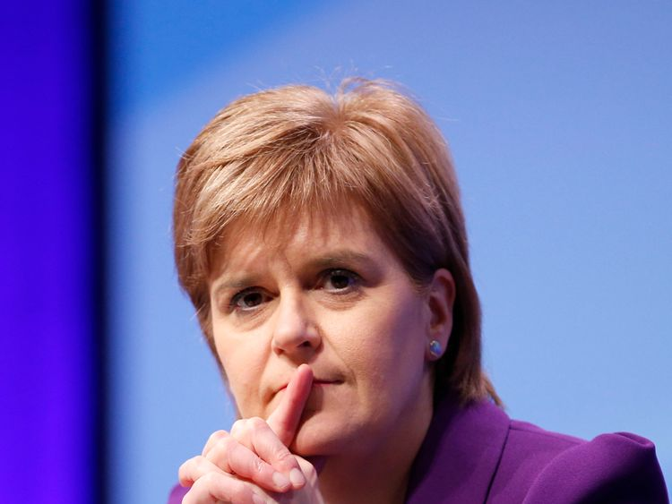 Nicola Sturgeon has been surprised by support from England for the SNP
