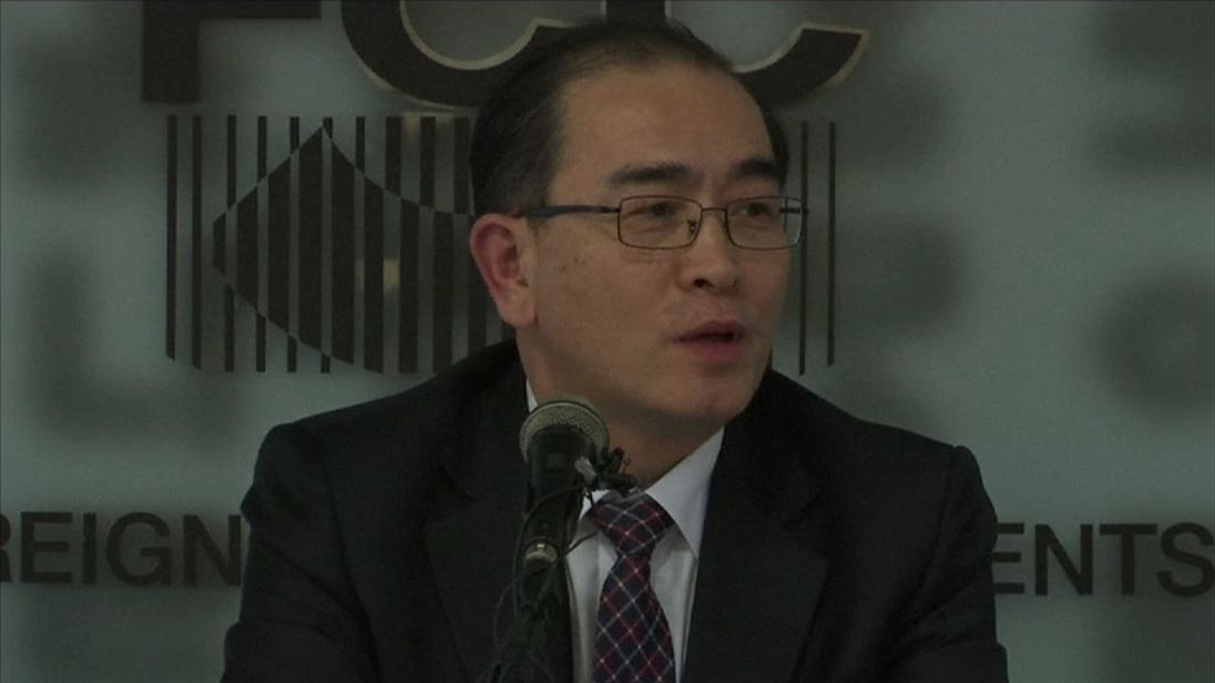 Thae Yong Ho is the most senior official to defect from North Korea for 20 years