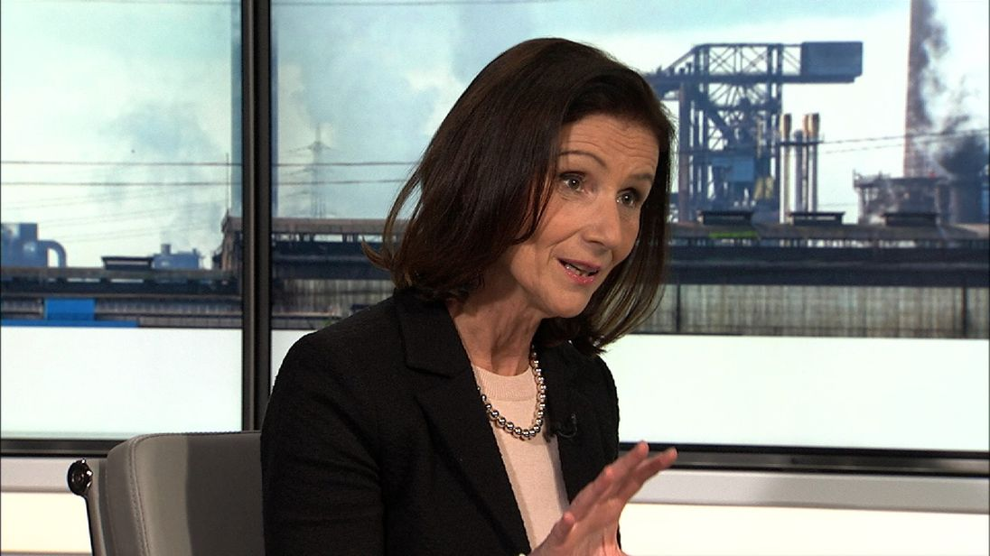 Carolyn Fairbairn is director-general of the CBI