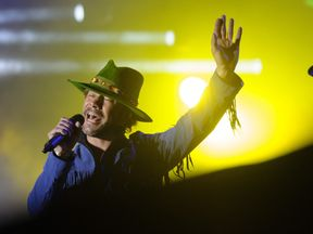 British singer jay kay of pop band Jamiroquai has yet to announce UK tour dates